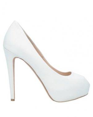Туфли ALBANO. Цвет: белый