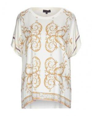 Блузка HALE BOB. Цвет: слоновая кость