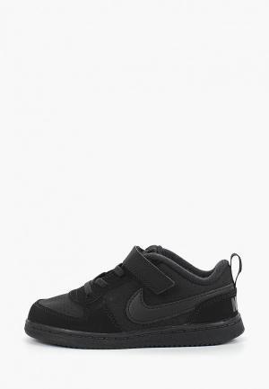 Кеды Nike BOYS COURT BOROUGH LOW (TD) TODDLER SHOE. Цвет: черный