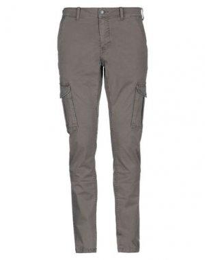 Повседневные брюки NAPAPIJRI. Цвет: серый
