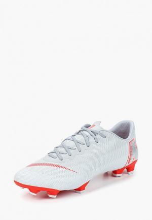 Бутсы Nike Vapor 12 Pro (FG) Firm-Ground Football Boot. Цвет: серый