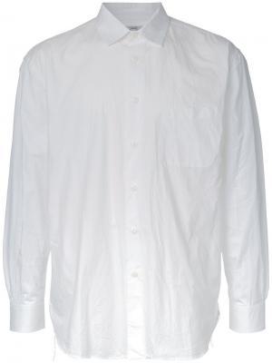 Рубашка свободного кроя Gold / Toyo Enterprise. Цвет: белый
