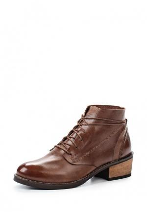 Ботинки Laceys London. Цвет: коричневый