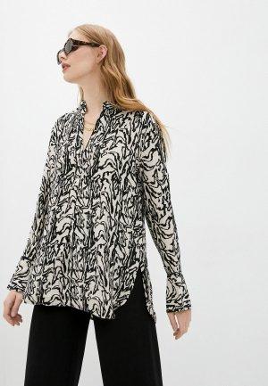 Блуза By Malene Birger. Цвет: разноцветный