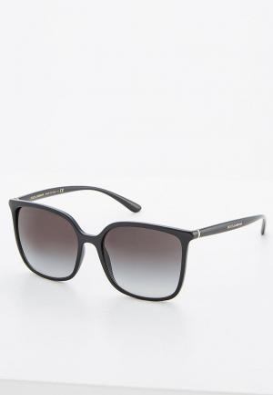 Очки солнцезащитные Dolce&Gabbana DG6112 501/8G. Цвет: черный