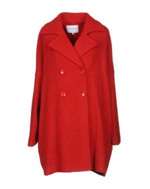 Пальто ANNA RACHELE JEANS COLLECTION. Цвет: красный