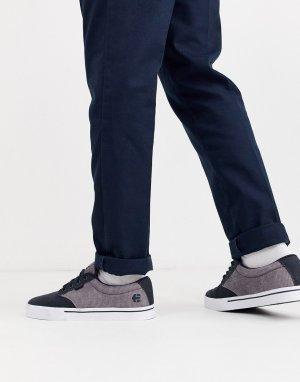 Кроссовки с темно-синей и серой отделкой Jameson 2 Eco-Темно-синий Etnies