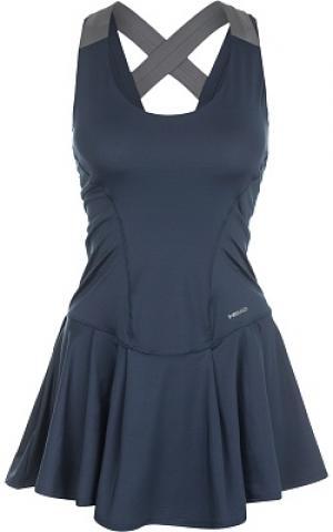 Платье женское Vision, размер 40-42 Head. Цвет: синий