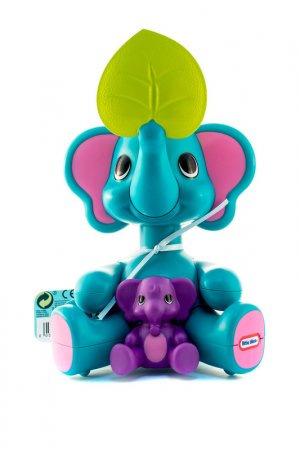 Веселые приятели - слон Little Tikes. Цвет: голубой