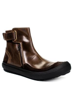 Ботинки Fly London. Цвет: темно-коричневый