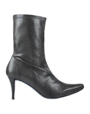 Полусапоги и высокие ботинки FARRUTX. Цвет: стальной серый
