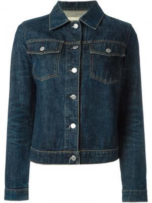 Классическая джинсовая куртка Helmut Lang Pre-Owned. Цвет: синий
