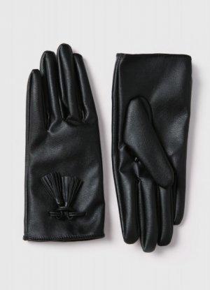 Комбинированные перчатки O`Stin. Цвет: черный