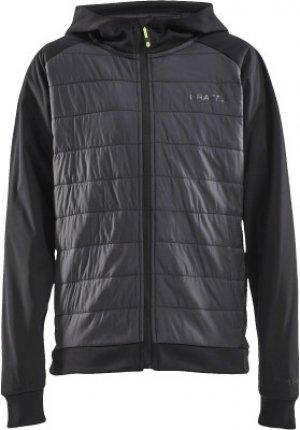 Куртка утепленная для мальчиков , размер 134-140 Craft. Цвет: черный