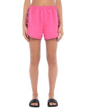 Пляжные брюки и шорты DIESEL. Цвет: фуксия