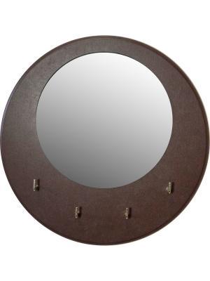 Ключница настенная Мастер Рио. Цвет: темно-коричневый