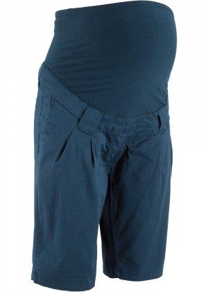 Шорты для беременных bonprix. Цвет: синий