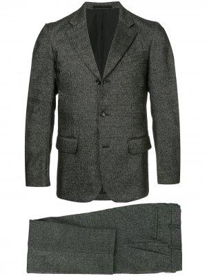 Костюм с пиджаком зазубренными лацканами Comme Des Garçons Pre-Owned. Цвет: серый