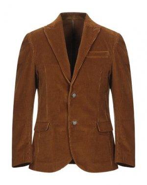 Пиджак STILOSOPHY INDUSTRY. Цвет: ржаво-коричневый