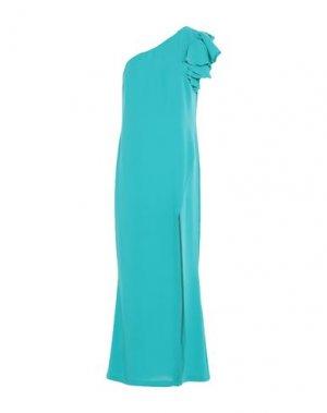 Длинное платье HANITA. Цвет: бирюзовый