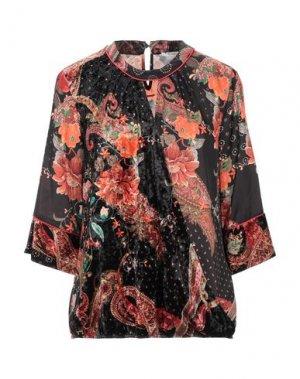 Блузка CANNELLA. Цвет: черный