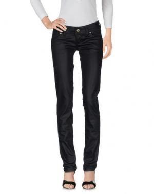 Джинсовые брюки FREESOUL. Цвет: черный