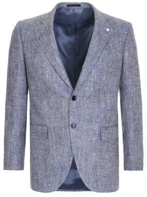 Пиджак из шелка и льна LUBIAM
