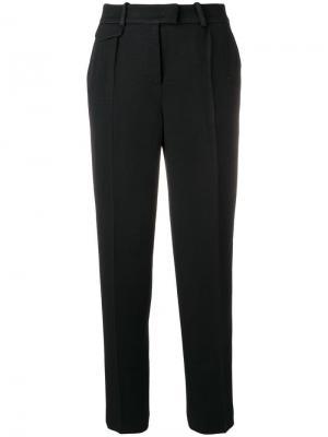 Классические брюки с высокой талией Giorgio Armani. Цвет: чёрный