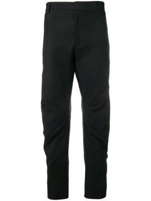 Классические брюки строгого кроя Lanvin. Цвет: черный