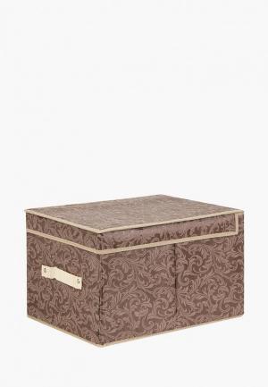 Короб для хранения El Casa. Цвет: коричневый