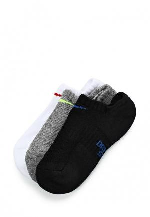 Комплект Nike KIDS PERFORMANCE CUSHIONED NO-SHOW TRAINING SOCKS (3 PAIR). Цвет: разноцветный