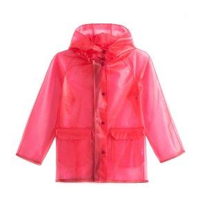 Плащ La Redoute. Цвет: розовый