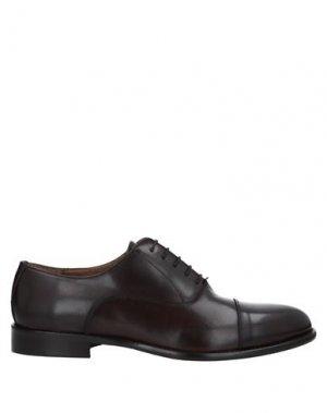 Обувь на шнурках BALDININI. Цвет: темно-коричневый