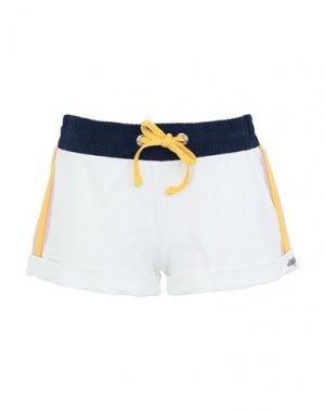 Пляжные брюки и шорты BANANA MOON. Цвет: белый