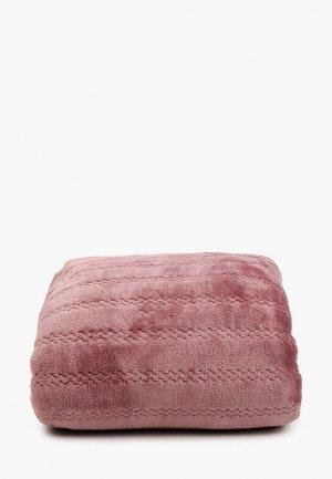 Плед Эго 180х200 см. Цвет: розовый