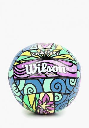 Мяч волейбольный Wilson GRAFFITI. Цвет: разноцветный