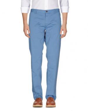 Повседневные брюки BOSS HUGO. Цвет: небесно-голубой