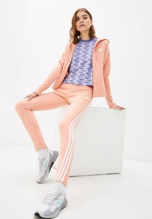 Костюм спортивный adidas W ENERGY TS. Цвет: розовый