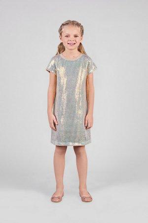 Платье Choupette. Цвет: серый