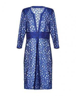 Легкое пальто LEXUS. Цвет: ярко-синий