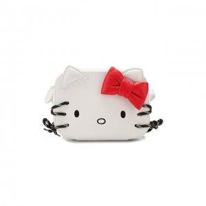 Сумка Hello Kitty XXS Balenciaga. Цвет: белый