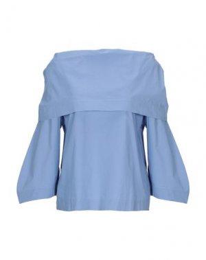 Блузка ALPHA STUDIO. Цвет: небесно-голубой