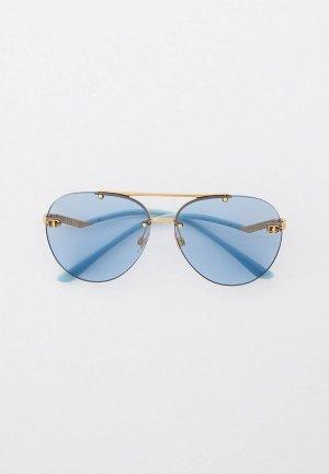 Очки солнцезащитные Dolce&Gabbana DG2272 02/72. Цвет: голубой