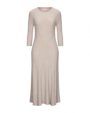 Платье до колена A.L.C.. Цвет: бежевый