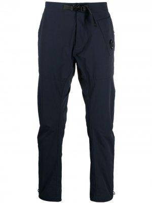 Спортивные брюки с пряжкой C.P. Company. Цвет: синий