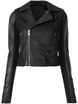 Classic Stooges jacket Rick Owens. Цвет: чёрный