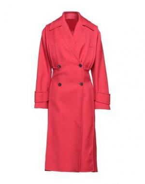 Пальто VALENTINO. Цвет: красный