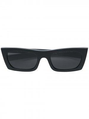 Солнцезащитные очки Fred в квадратной оправе Retrosuperfuture. Цвет: черный
