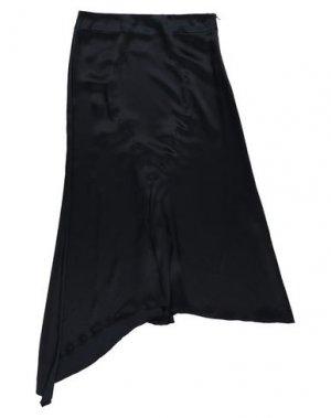 Юбка длиной 3/4 ANDREA TURCHI. Цвет: черный