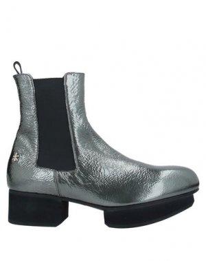 Полусапоги и высокие ботинки PREMIATA. Цвет: серый